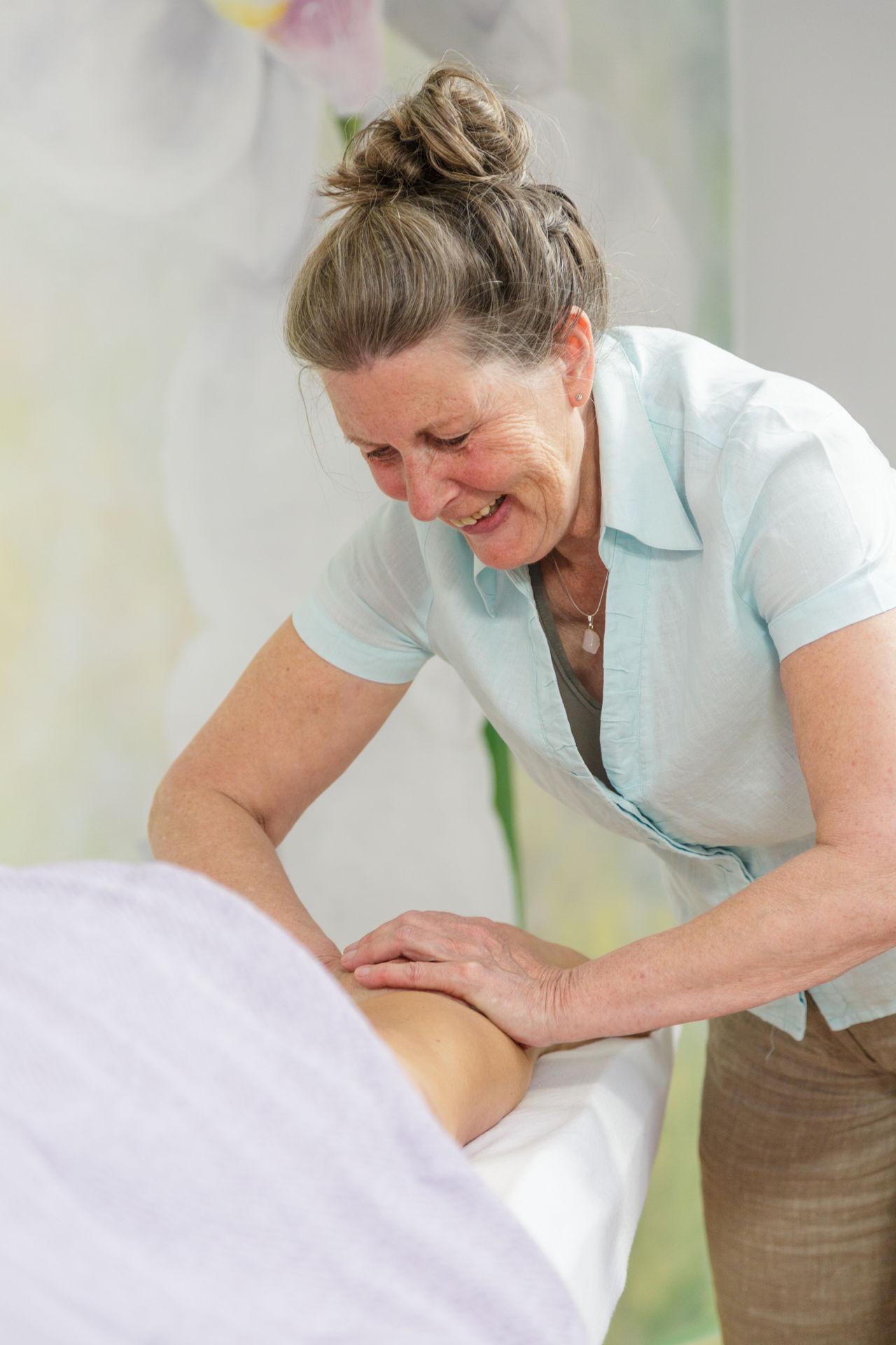 Massage tijdens de overgang - Silvia Arentsen